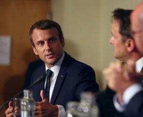 Emmanuel Macron teste ses annonces auprès des corps intermédiaires...