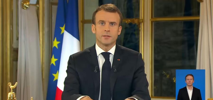 Macron décrète l'état d'urgence économique et social