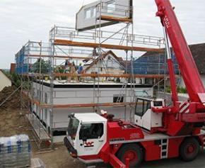 La production de matériaux de construction sera moins importante que prévu...