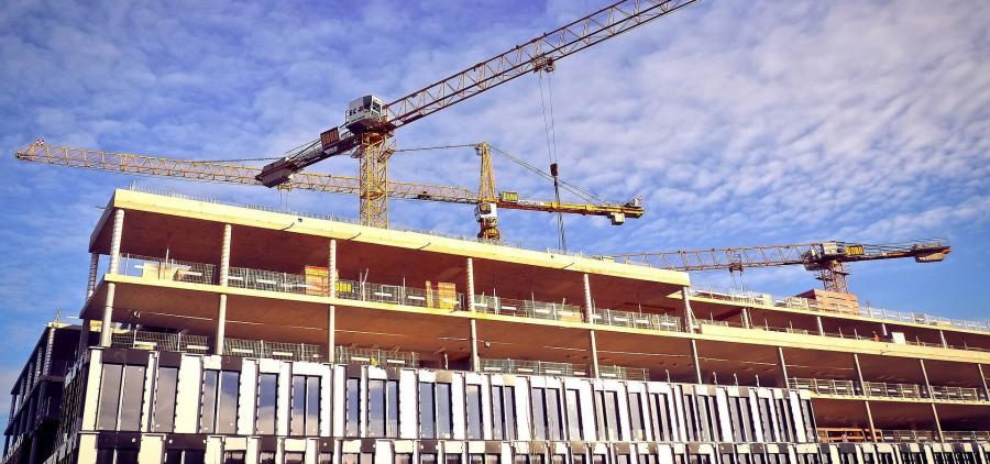 Le secteur de la construction connaît un début de ralentissement