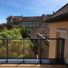 Garde-corps en aluminium pour balcon et  toiture-terrasse accessible