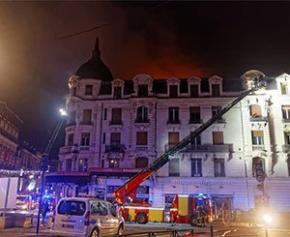 """Incendie à Toulouse : l'immeuble n'était """"pas insalubre"""""""