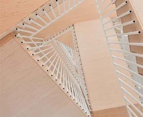 Escalier magistral « Trames » signé par le Studio Briand & Berthereau