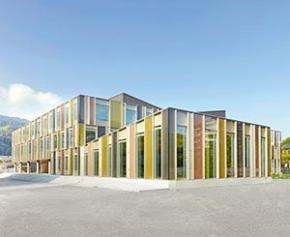 Wicona participe à la rénovation de l'école secondaire d'Horw en...