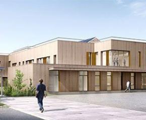 Nouvelle intervention en site occupé pour LCA avec l'extension du lycée...