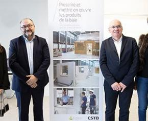 Tipee et le CSTB inaugurent la plateforme de formation aux produits de la baie