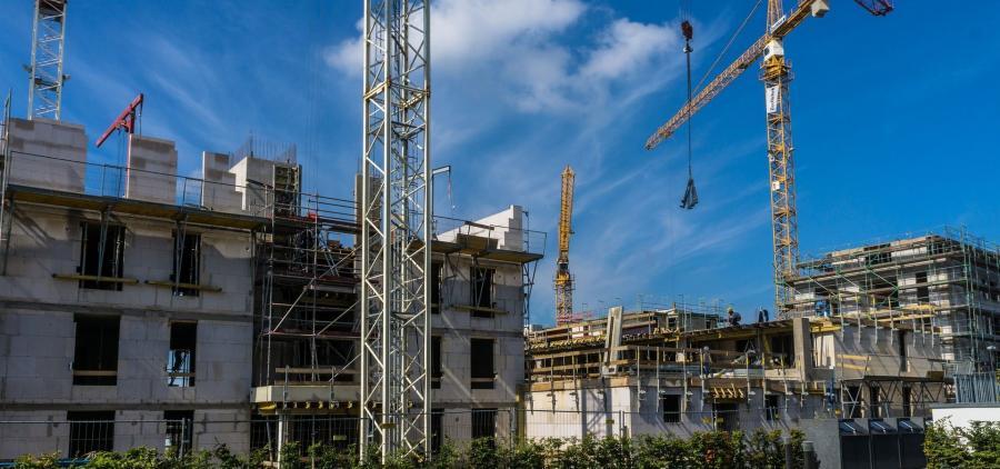 La construction de logements a fortement baissée en 2018