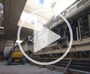 Le Tunnelier du chantier du siècle