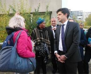 Le ministre de la Ville et du Logement lance le grand débat dans les quartiers