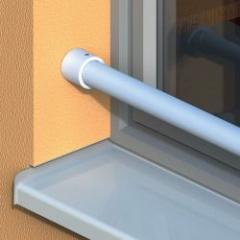 Système de barre d'appui de fenêtre en aluminium