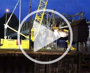 Reconstruction du barrage de Vives Eaux et démolition du barrage existant