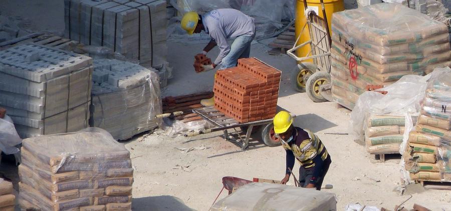 Une année 2018 en légère progression pour les matériaux de construction