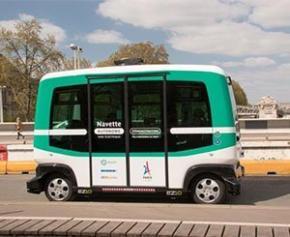 Saint-Quentin-en-Yvelines teste la navette autonome