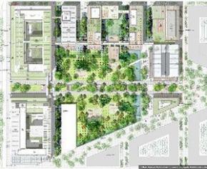 Début du chantier du nouveau Campus d'AgroParisTech-Inra à...