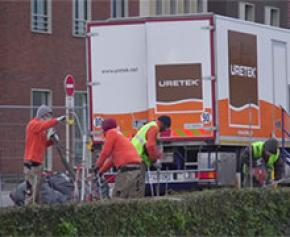 Uretek® sécurise le quai de la Divette à Cherbourg grâce aux injections de résine expansive