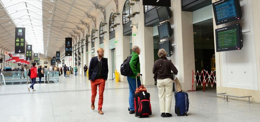 La cure de jouvence des gares parisiennes