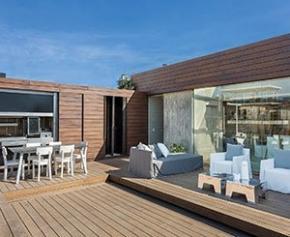 Moso et grad présentent une solution unique pour les terrasses en bambou...