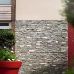 Le seul panneau en pierre naturelle certifié pour l'extérieur