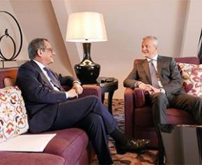 La France et l'Italie réunis à Versailles autour d'intérêts économiques communs