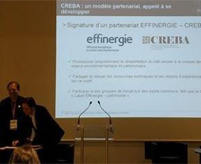 Label « Effinergie-Patrimoine » : CREBA et EFFINERGIE deviennent partenaires