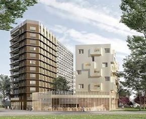 Vinci Construction France lance les travaux de Treed It, au cœur du Cluster de la...