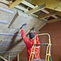 Solution d'isolation des murs par l'intérieur et des combles aménagés 100% laine de roche, 100% premium