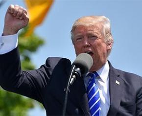 Donald Trump, un emblème peu revendiqué par l'immobilier mondial