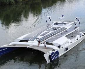 Le bateau laboratoire Energy Observer poursuit son tour du monde