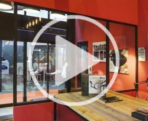 Profils Systèmes présente sa verrière intérieure Wallis&Atelier® en vidéo
