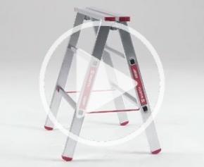 Le tréteau de montage aluminium de Würth