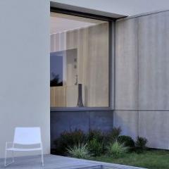 Fenêtre aluminium à ouvrant visible et à très hautes performances évolutives