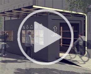 Réalisation du prototype du concours d'Architecture Algeco