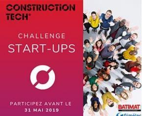 Appel a candidatures pour le 2ème Challenge Start-ups Construction Tech®