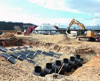 Polieco France se positionne sur le marché des tubes annelés gros diamètres