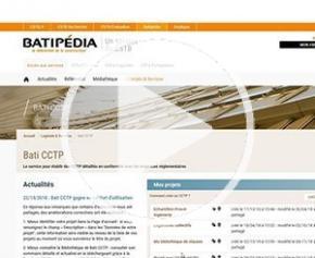 Bati CCTP : un outil intuitif pour l'édition de vos CCTP et DPGF