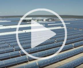 La centrale solaire de Kathu