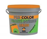Nouvelle peinture PRB Color Velouté Intérieur Airless