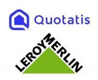 Quotatis et Leroy Merlin, partenaires pour faciliter la pose de produits à domicile