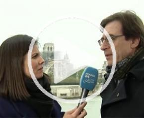 """Notre-Dame - Pierre Chomette de l'Unsfa : """"L'Architecture n'est jugée que par le temps"""""""