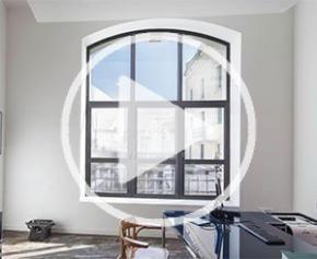 Fenêtres alu SATIN MOON®