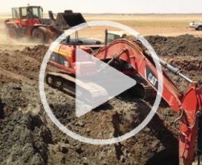 Un chantier extrême dans le Sahara