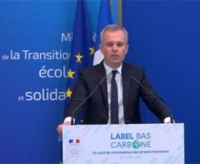 Le gouvernement lance le label bas-carbone