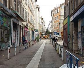 Six mois après les effondrements de la rue d'Aubagne, Marseille...