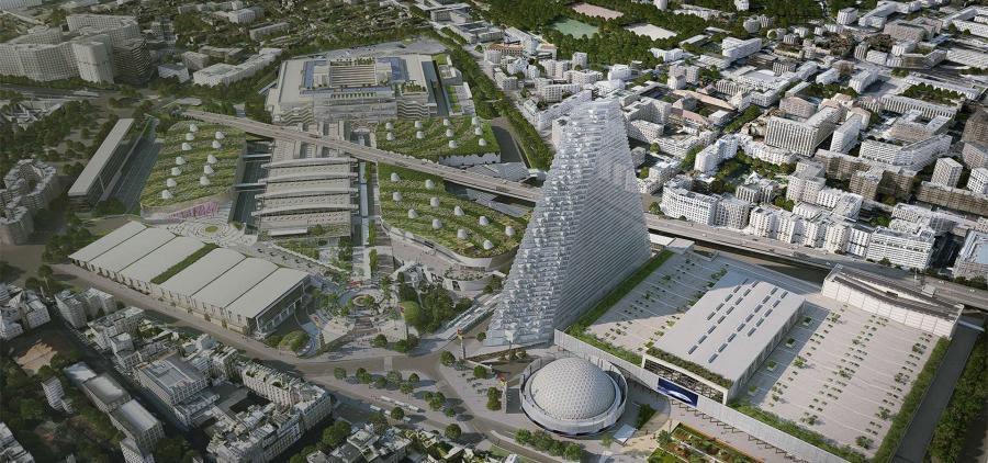 La construction de la Tour Triangle à Paris validée par la justice