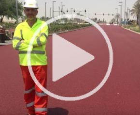 """#MyJobStory : une route rouge et """"princière"""" au Qatar"""
