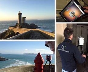 AC Environnement réalise la maquette numérique 3D du phare du Petit Minou...