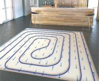 Eleafix, la première dalle de plancher chauffant fibrée