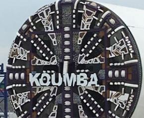Baptême de « Koumba », un des trois tunneliers du prolongement de la Ligne 14