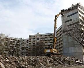 50% des projets du Nouveau Programme National de Renouvellement Urbain...