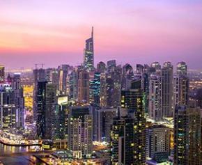 Nouveaux projets urbains futuristes à Dubaï